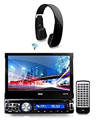 See 1 X New Pyle PLBT73G 7-inch Bluetooth CD/Multimedia AM/FM Radio AUX Input Player Stereo Receiver With GPS Navigation Headunit with Built-in Mic for Hands-Free Call Answering Touch Screen USB/SD Card Readers + 1 X Sound 6 Bluetooth 2-in-1 Stereo Headphones Details