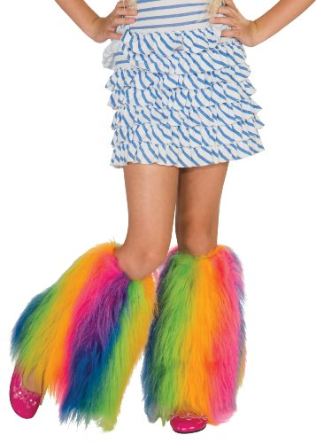 Rainbow Fluffies Leg Warmers