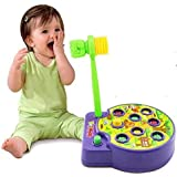 Eucute® New Version Electronic Interactive Whac-A-Mole Game with Sound Preschool Toddler Toy Perfect for Children to Develop Intellectual