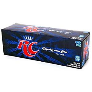 RC Cola, 12 oz Can (Pack of 24)