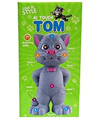 NDS Talking tom with AI touch sensitive and recording for kids