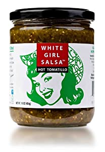 White Girl Wg Salsa Hot Tomatillo 16 oz (Pack Of 6) by White Girl