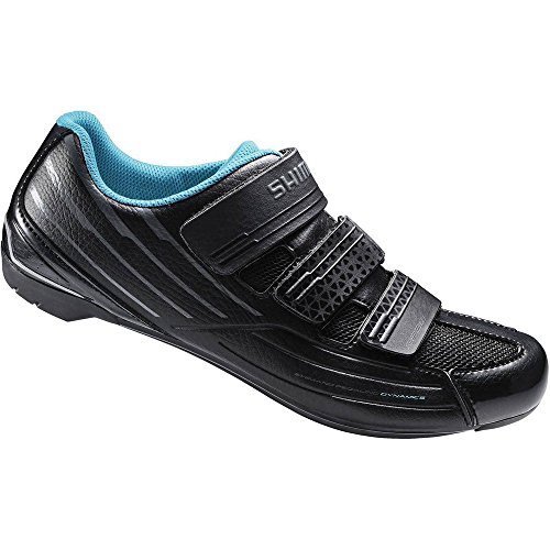 shimano-sh-rp2-womens-touring-road-cycling-synthetic-leather-shoes-black-41