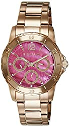 Giordano Analog Pink Dial Womens Watch - GX2636-77