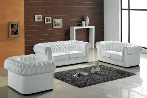 wei e sofas landhausstil elegante sitzm bel mit stoff leder oder rattan. Black Bedroom Furniture Sets. Home Design Ideas