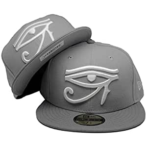 Amazon.com : Eye of Horus New Era Custom 59Fifty Fitted Hat to match