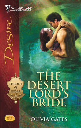 Image of The Desert Lord's Bride (Silhouette Desire)