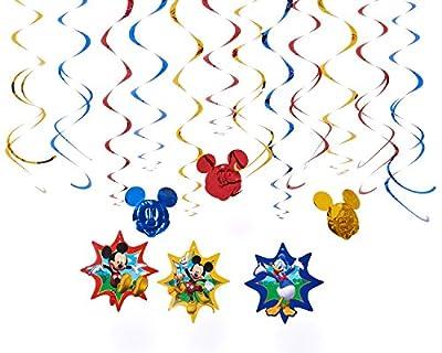 Mickey Mouse Swirls