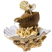 Seashells Tabletop Fountain