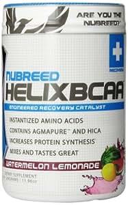 Nubreed Nutrition Helix BCAA Diet Supplement, Watermelon Lemonade, 339 Gram