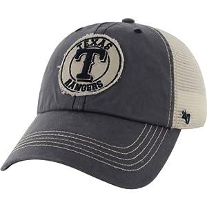 Texas Rangers Cuddyhook Mesh Flex Hat by 47 Brand by