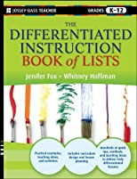The Differentiated Instruction Book of Lists (J-B Ed: Reach and Teach)