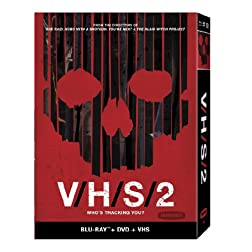 V/H/S/2 [DVD+Blu-ray+VHS Tape]