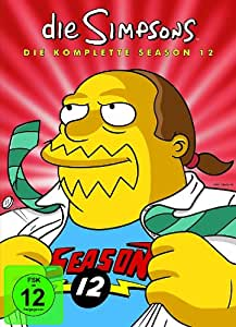 Simpsons: Season 12 (4 DVDs) [Import allemand]