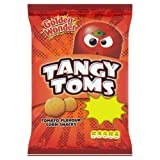 Golden Wonder Tangy Toms Crisps 28g Case of 36