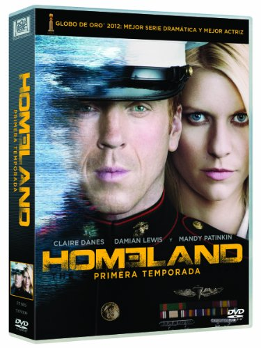 homeland season 01 (5 dvd) box set dvd Italian Import