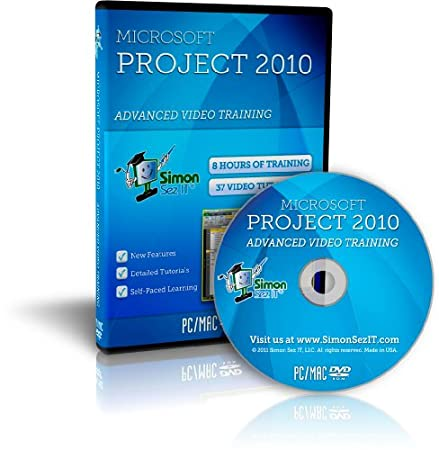 Microsoft Project 2010 Advanced Software Training Tutorials