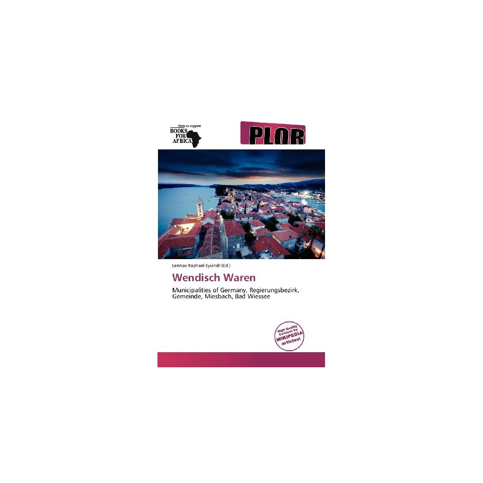 Wendisch Waren (9786138673163) Lennox Raphael Eyvindr Books