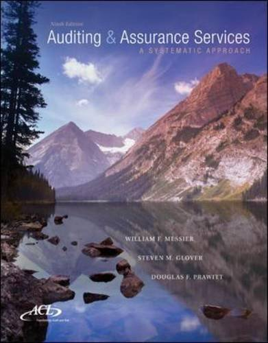 MP Auditing & Assurance Services w/ ACL Software CD-ROM: A Systematic Approach