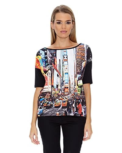 Miles Barcelona Camiseta PopSoda Negro / Multicolor