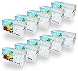 Set of 10 Compatible Laser Toner Cartridges for HP Colour Laserjet CM2320, CM2320n, CM2320nf, CM2320dn, CM2320fxi, CP2020, CP2020d, CP2020dn, CP2020fxi, CP2020nf, CP2025, CP2025n, CP2025dn, CP2025fxi, CP2025nf, CP2025x, Canon i-Sensys MF-8340CDN, MF-8330