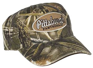 Pittsburgh Panthers NCAA Camo Adjustable Hat