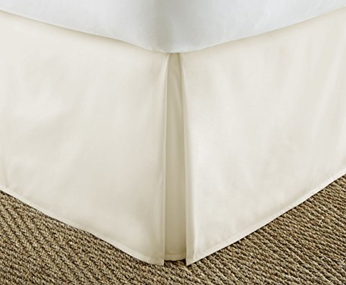 Cheap Home Collection Luxury Pleated Bed Skirt Dust Ruffle