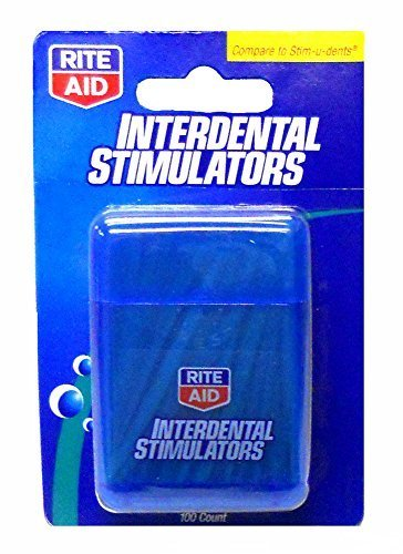 100-rite-aid-wooden-interdental-stimulators-dental-picks-pocket-carrying-case-by-rite-aid