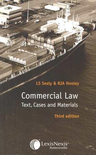 commercial-law-text-cases-and-materials-by-len-s-sealy-2005-01-13