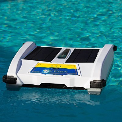 Solar Breeze Nx Automatic Pool Skimmer Smart Robot Powered By The Sun New For 2016