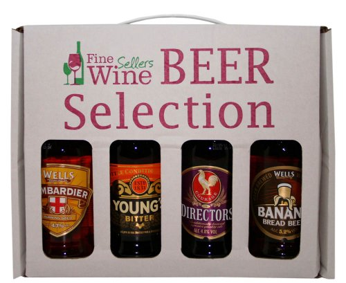 Wells & Youngs - Mixed Beer Gift Pack - 4 x 500ml