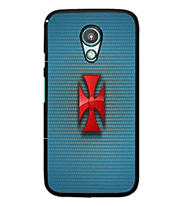 PrintDhaba Cross D-1777 Back Case Cover for MEIZU M1 NOTE (Multi-Coloured)