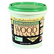 Famowood Water-Based Wood Filler-1/4PT NATURL WOOD FILLER