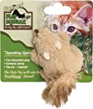 OurPets Play-N-Squeak Backyard Squirrel Catnip Cat Toy