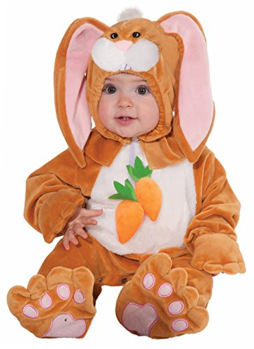 Forum Novelties Baby Boy's Plush Cuddlee Rabbit Costume