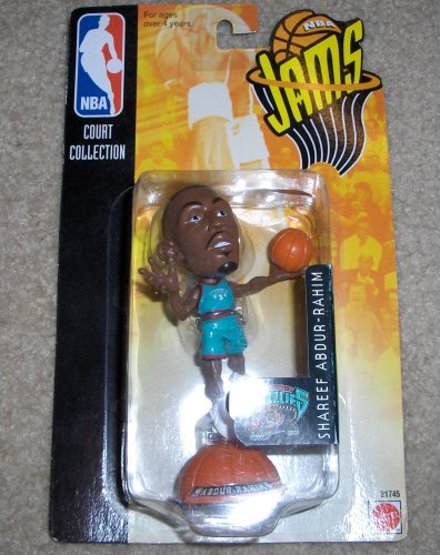 Shareef Abdur Rahim NBA Jams Court Collection Figure