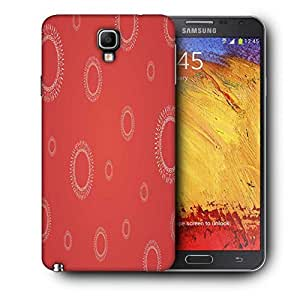 Snoogg Abstract Pattern Design Printed Protective Phone Back Case Cover For Samsung Galaxy NOTE 3 NEO / Note III