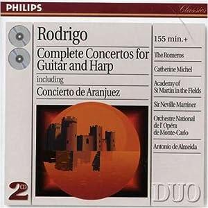 Rodrigo Complete Concertos For Guitar Harp by Decca (UMO)