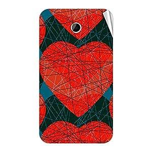 Garmor Designer Mobile Skin Sticker For Lenovo S560 - Mobile Sticker