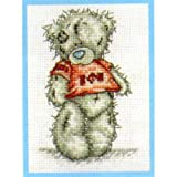I Love U Me to You Bear Small Cross Stitch Kit