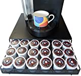 Neat-O Coffee Pod Storage Drawer Holder for 36 Keurig K-Cup, Black