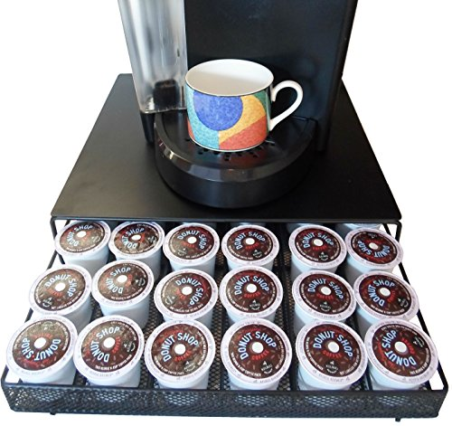 Neat-O Coffee Pod Storage Drawer Holder for 36 Keurig K-Cup, Black (Coffee Keurig Storage compare prices)