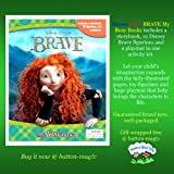 Katherine Evans Disney Pixar Brave: My Busy Book (includes a story book, 12 figurines, and a play mat)