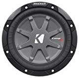 "Kicker 40CWRT671 6-3/4"" CompRT67 Sub 300W 1 Ohm DVC Shallow Mount Car Subwoofer"