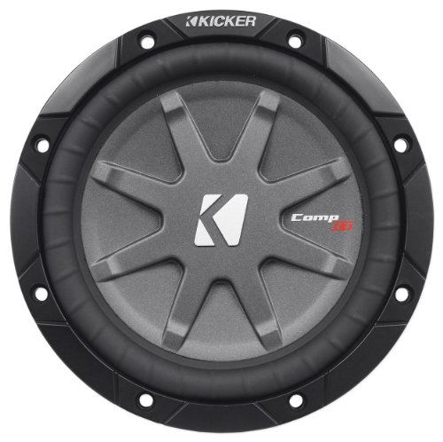 "Kicker 40Cwrt671 6-3/4"" Comprt67 Sub 300W 1 Ohm Dvc Shallow Mount Car Subwoofer"