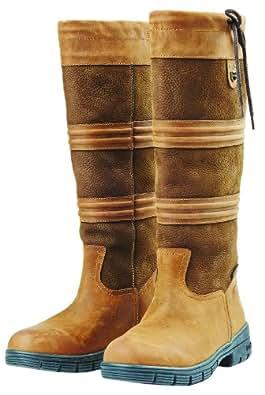 Dublin Husk Boots - Chocolate,9