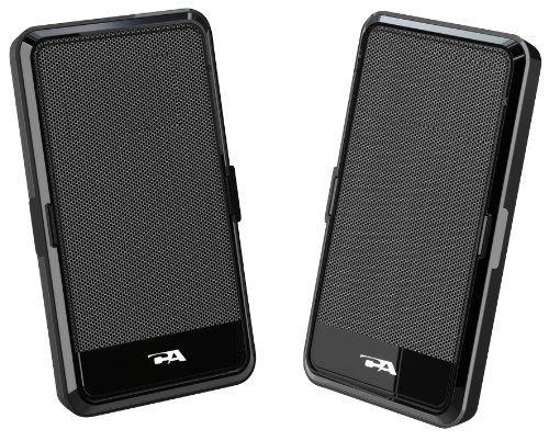 Usb Powered 2pc.Black Speaker Portable Design