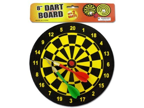 Dart board with darts - Case of 36 by bulk buys