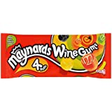 Maynards Wine Gums Roll (Pack of 7, Total 28 Rolls)
