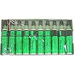 【S.T.Dupont】デュポン ガスレフィル 緑ラベル 10本セット (ギャッツビー用)